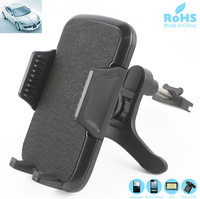 PVC ABS Plastic Rotary Universal Car Air Vent Clip Holders Cell Phone Mobile Phone Stands Holders