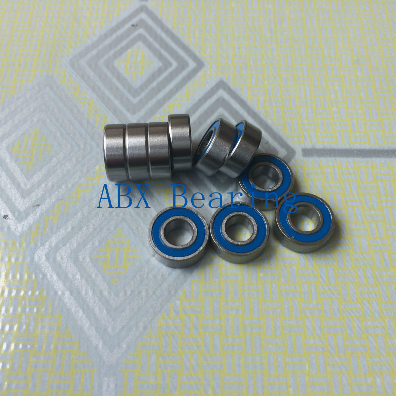 10pcs/lot MR115-2RS MR115RS MR115 deep groove ball bearing 5x11x4mm miniature bearing ABEC3 best price 10 pcs 6901 2rs deep groove ball bearing bearing steel 12x24x6 mm