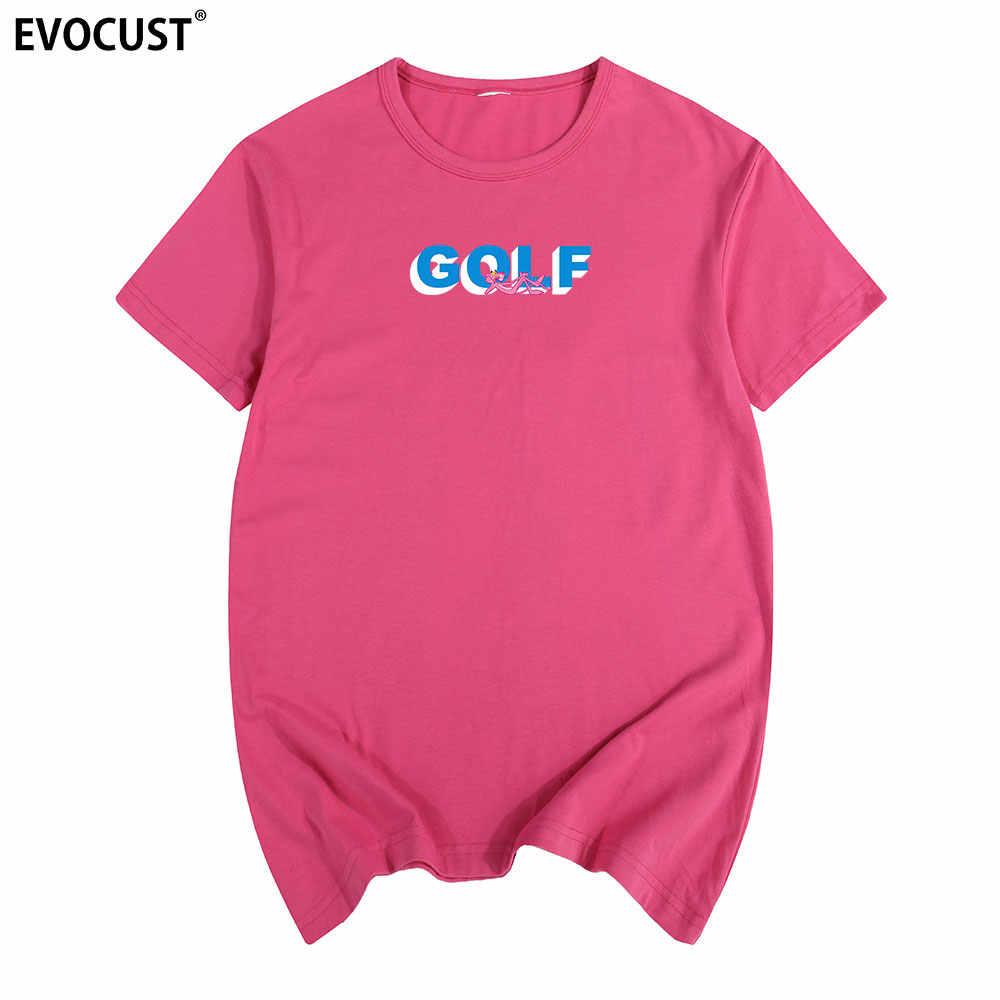 17e57b351a79 ... GOLF wang panther 3D Logo Tyler the creator Frank Ocean OFWGKTA Skate  VINTAGE Summer T- ...