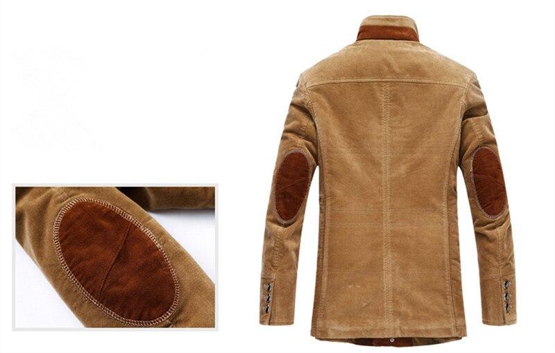 Abrigo clásico grueso de invierno chaqueta de negocios para hombre abrigo de lana casual de alta calidad para hombre, rompevientos para hombre, talla M a 6XL, 7XL - 5