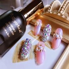 ФОТО beauty nail art 2018 newest fashion uv led gel polish gloss top coat  ultra base coat 15ml soak off nail polish design nail gel