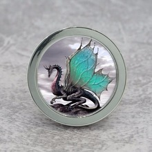 Fly Dragon Knobs Drawer Dresser Knobs Handmade Cupboard Pulls Handle Chic Kitchen Cabinet Knobs Furniture Hardware