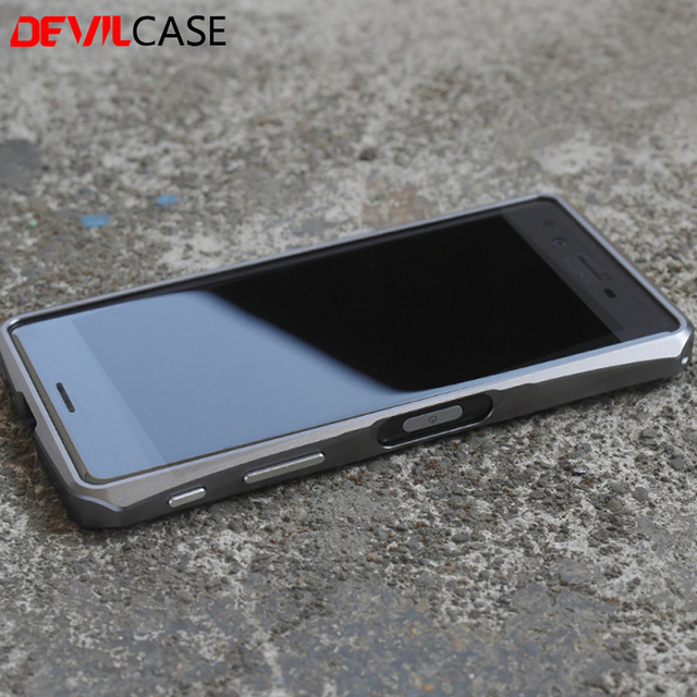 buy popular 49c6a 2eb22 US $45.0 |DEVILCASE For SONY XPERIA X Performance Aluminum Alloy Bumper  Frame Fashion Hard Protective Casing For Xperia XP New Cover-in Phone  Bumper ...