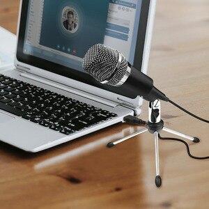 Image 5 - Fifine Plug & Play Home Studio a Condensatore Usb Microfono per Skype, Le Registrazioni per Youtube, Google Ricerca Vocale, giochi (K668)