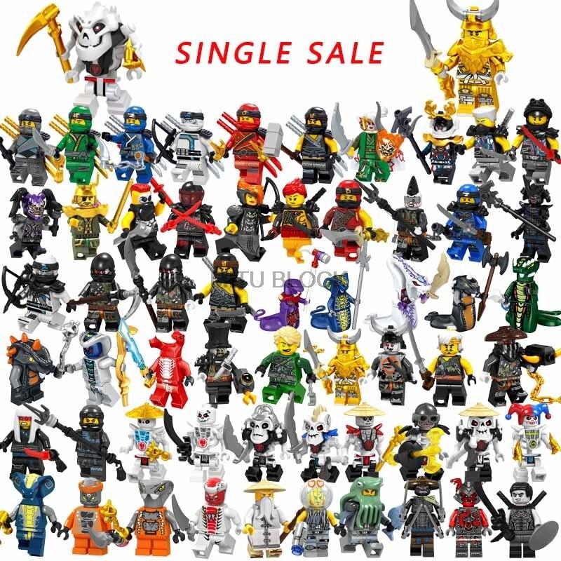 Legoings Ninjago Наборы Ninjaed Samukai фигурки Kai, jay, Cole Zane Nya Pythor мастер золотой дракон фигурки игрушки Legoing Ninjagoings