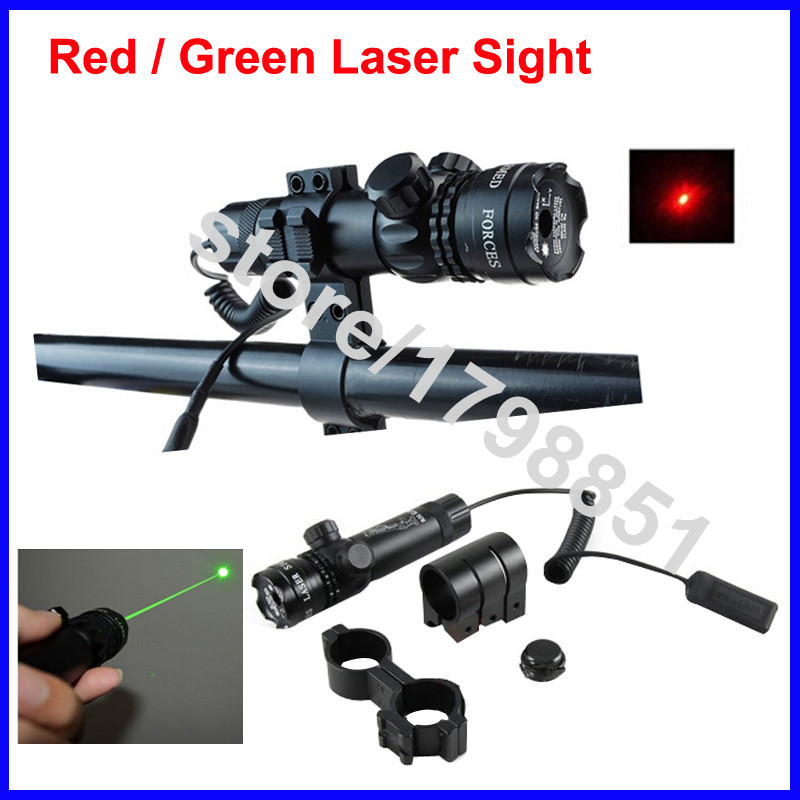 Airsoft Red Laser Sight Flashlight Tactical 532nm Green Laser Torch Scope Aluminium Alloy With Free Mount Hunting Optics Lasers
