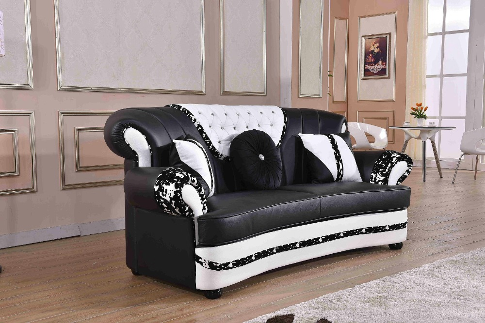 2019 New Top Fashion Beanbag Chaise Sectional Sofa Living Room Sofa Good  Guality Lounge Couch European Classic 7 Seater Leather-in Living Room Sofas  ...
