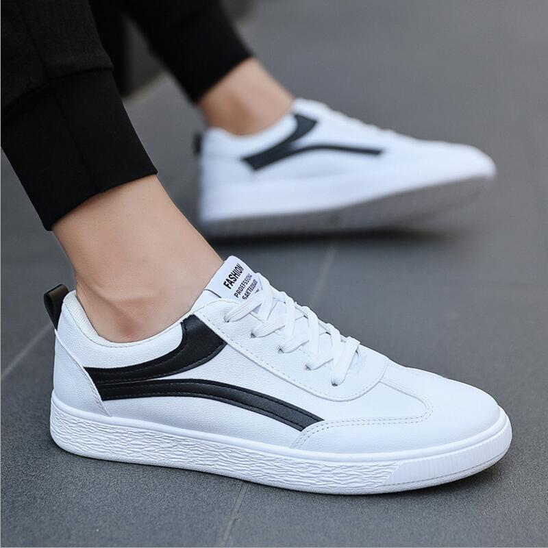 Aike Asia New Fashion Trend Mens Brand Casual Shoes Low To Help High-end Canvas Shoes Mens Apartment Large Size Fashion Shoes Oxfords Men's Shoes
