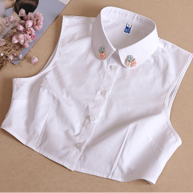 New shirt female wild sweater decoration false All Matching Detachable Collars sweater saving collar Women Clothes Shirt