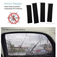 Car Window Sunshade Curtain UV Protection Shield, Visor Mesh Solar Mosquito Dust Protection Car-covers