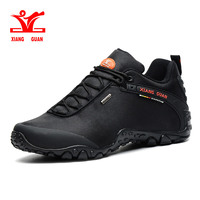 Xiang Guan Windproof Style Outdoor Climbing Sneakers Unisex Comfortable Black Soft Sport Shoes Fast Delivery