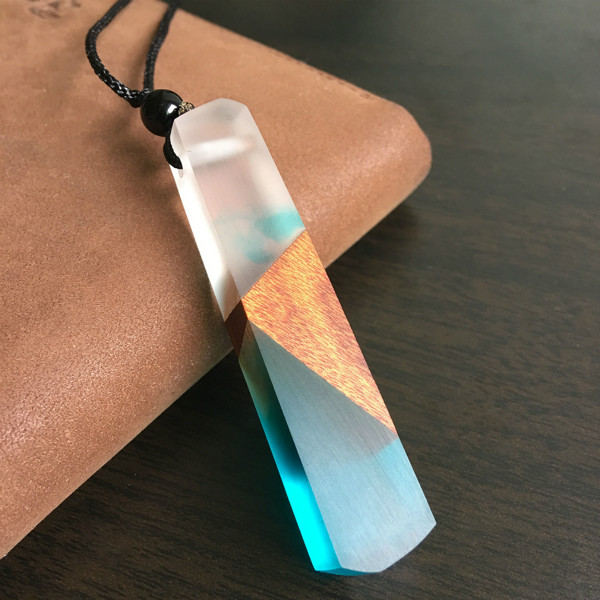 Handmade Vintage Resin Necklace
