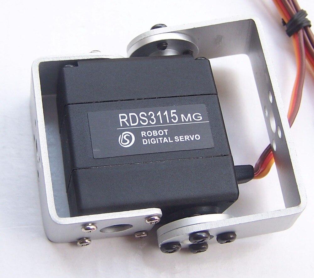Toys & Hobbies Free Shipping 4xoriginal Factory Robot Servo 15kg Rds3115 Metal Gear Digital Servo Arduino Servo For Robotic Diy 15kg/cm Pure And Mild Flavor