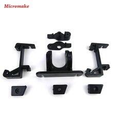 Micromake 3D Части Принтера Дельта Пластиковые Части Экструдера Обновления Междугородной Дистанционного Части Экструдера для 3d-принтер