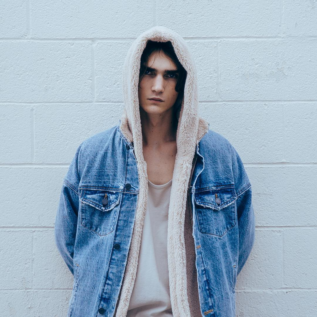 ONCEGALA Sherpa Hoodie Streetwear Kanye West Clothing Fashion Hip Hop Skateboard Urban Clothes Swag Men Hoodies