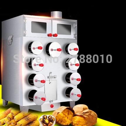 Commercial Sweet Potato Baking Stove Corn Baking Oven Heat Insualtion Sweet Potato Baking Machine