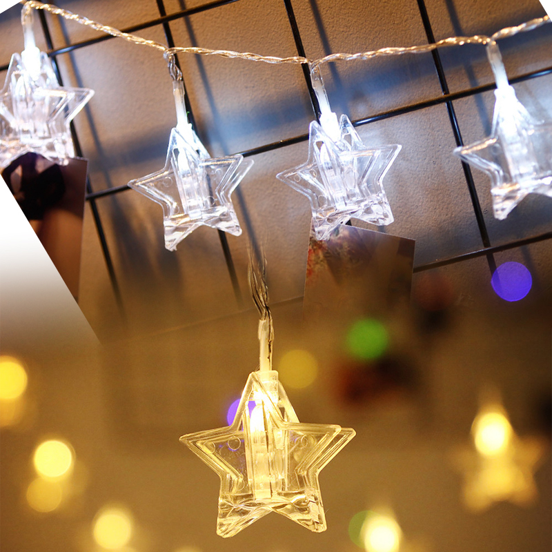 Sensible Hot 1.5m 2m 3m Photo Clip Holder Led String Lights For Christmas New Year Party Wedding Home Decoration Fairy Lights Battery Lights & Lighting