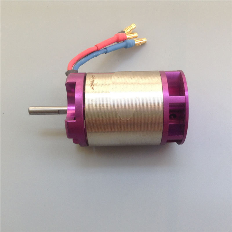 1PC RC Jet Boat 40mm Jet Pump Motor 3430 Brushless Motor 1200KV 4S-6S  Thruster Injector Sprayer Speed Motor Parts for RC Ship