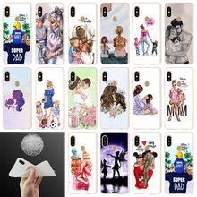 Fashion Soft Cover Phone Case For Xiaomi Redmi Note 7 6 5 4x redmi 6pro 6a s2 5a 4a 5plus 7A Baby Women Mom