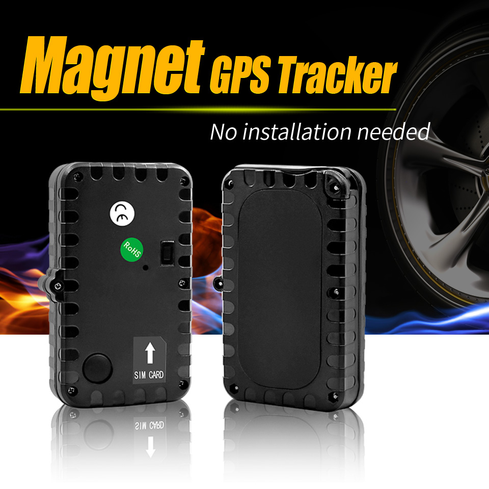 Aimant GPS Tracker voiture véhicule étanche en veille 90 jours logiciel de suivi gratuit protocole ouvert mieux que tk103b tk102 tk905