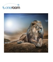3th The Lion Animal Art Needlework 14CT Counted Cross Stitch Kits For Embroidery Canvas Patterns DIY