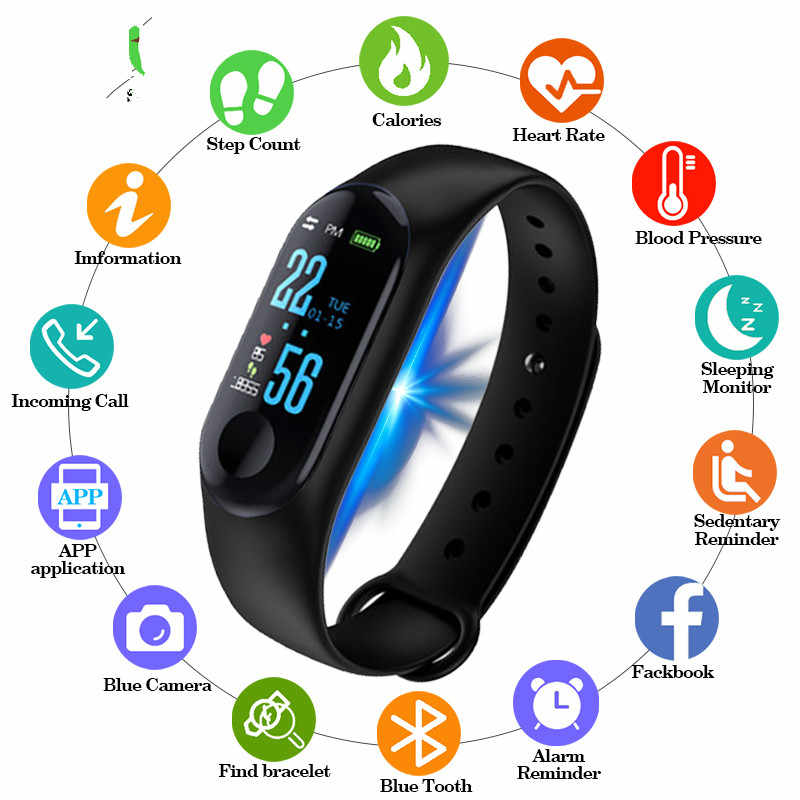 Detail Feedback Questions about 2019 New Men Smart Band Fitness