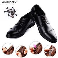 10 шт./партия, силиконовые шнурки без завязок, новые эластичные шнурки для обуви унисекс, все подходят для деловой обуви, эластичные шнурки ле...