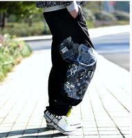 Mężczyzna dorywczo spodnie luźne moda marka hip hop spodnie długie spodnie plus size S L M XL XXL XXXL