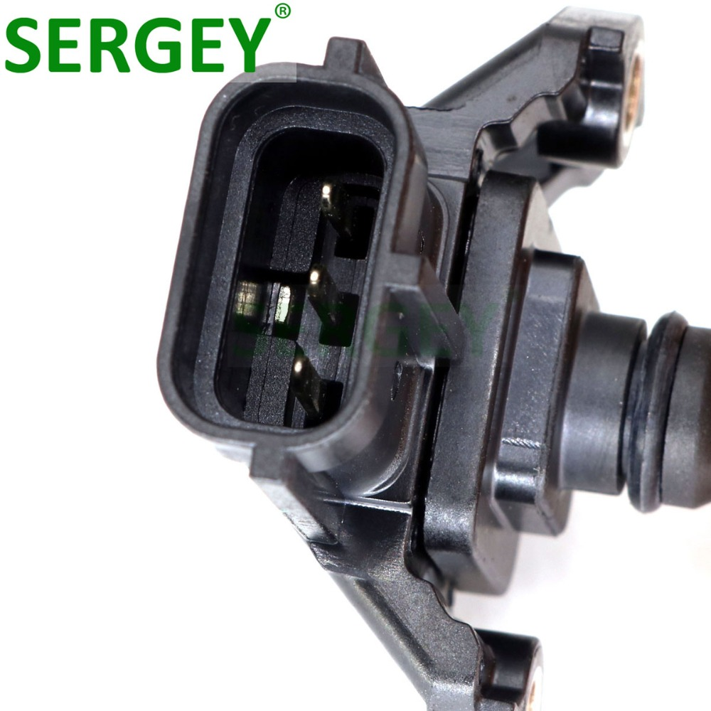 SERGEY High Quality Air Intake Pressure Map Sensor 898009 4180 8980094180 8 98009418 0 For ISUZU D MAX 4HK1 3 0 in Pressure Sensor from Automobiles Motorcycles