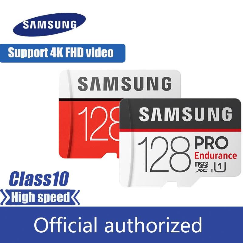 Samsung Micro Sd Card 32GB 64GB 128GB 256GB 100MB/s  SDHC SDXC Class10 UHS-I U3 Memory Card MicroSD TF Card 100% Original