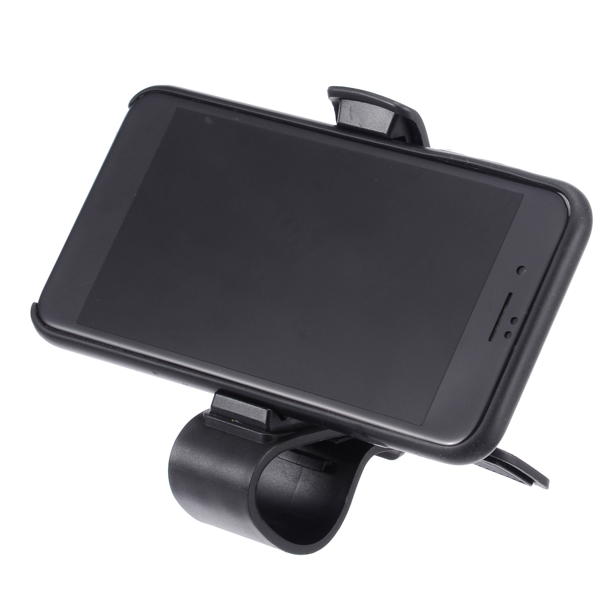 6.5inch Dashboard Car Phone Holder Easy Clip Mount Stand GPS Display Bracket Classic Black New