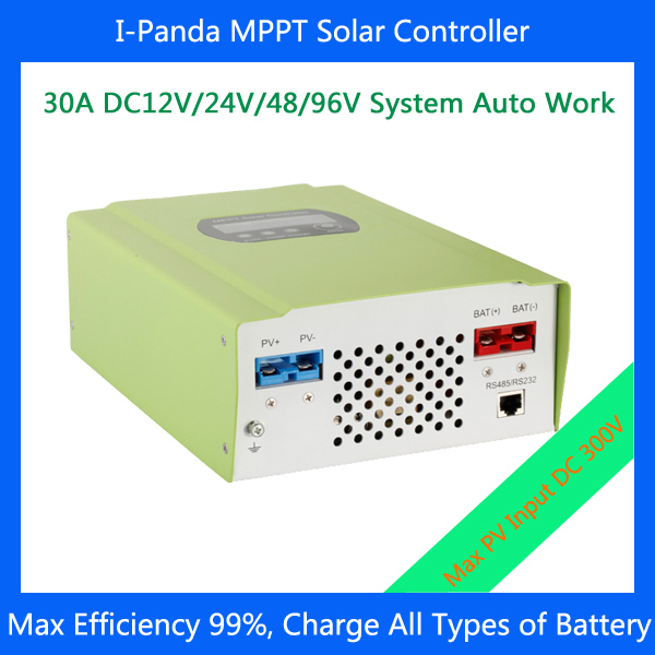 2 Years warranty MPPT Solar charge controller  96V 30Amps Solar tracker 2 years warranty backlight new function lcd display solar charge controller solar power controller