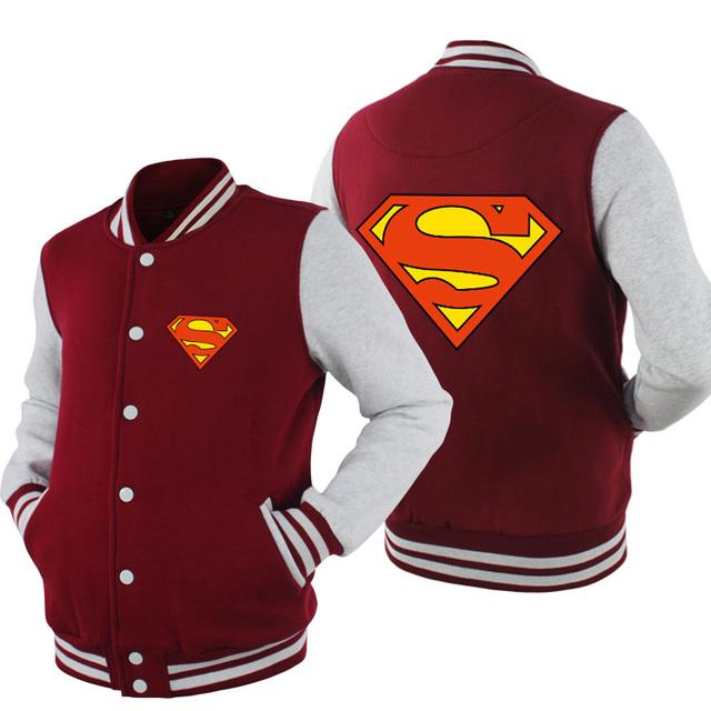 Superman Baseball Jacket