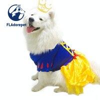Luxury big Con Chó lớn Công Chúa tuyết trắng váy tutu váy mùa đông ấm fleece tha mồi vàng pitbull vui dog quần áo trang phục