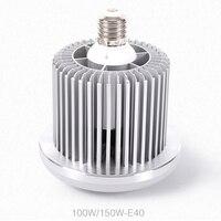2 cái 24w36w50w80w100w150w công suất cao Nhôm tản nhiệt chất lượng cao E27E40 cơ sở bulb led đèn smd độ sáng Cao
