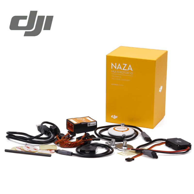 DJI Naza V2 Flight Controller ( Includes GPS )Naza-M Naza M V2 Fly Control Combo for RC FPV Drone Quadcopter Original f18471 m8n gps compass module for naza m v2 lite flight controller board