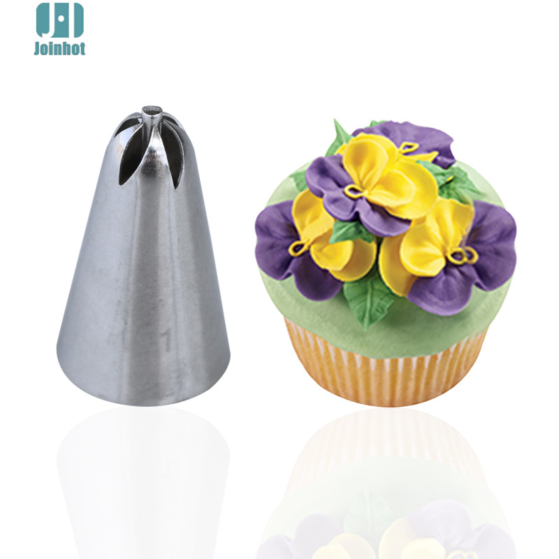 #129 107 1pc <font><b>Flower</b></font> Icing piping nozzle Set Pastry Cookie Maker Cream Cupcake <font><b>Decoration</b></font> <font><b>cake</b></font> nozzles image