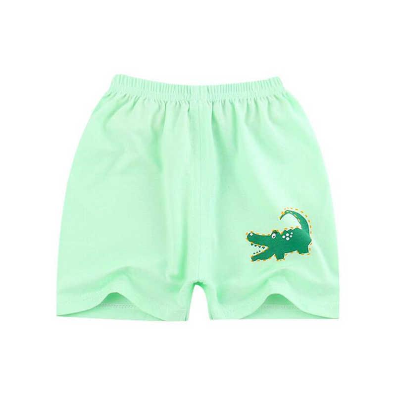 1PC dziecko szorty dla chłopców dziewczęce spodnie letnie 0-4T dzieci dziecko bawełna spodenki spodnie Cartoon dzieci krótkie spodnie odzież