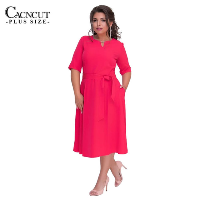 5xl 6xl Plus Size Dress Office Sale Large Big Size Party Dress 2018