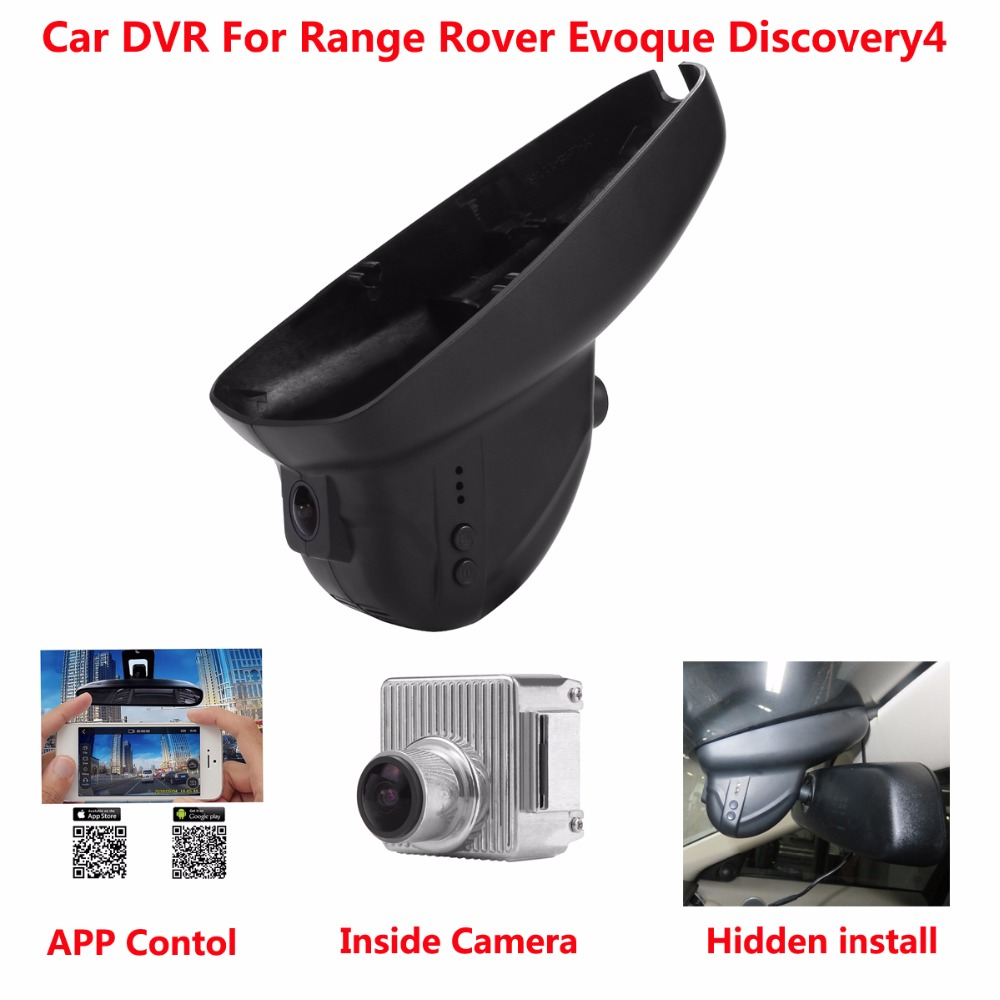 Hidden Car DVR For Range Rover Evoque(2010-2014) Discovery4(2011-2013) 1080p Video Recorder Motion Detection Carcam Car Dash Cam