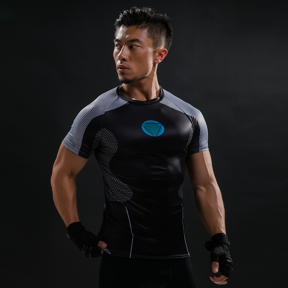 Punisher 3D Printed T-shirts Men Compression Shirts Long Sleeve Cosplay Costume crossfit fitness Clothing Tops Male Black Friday 83