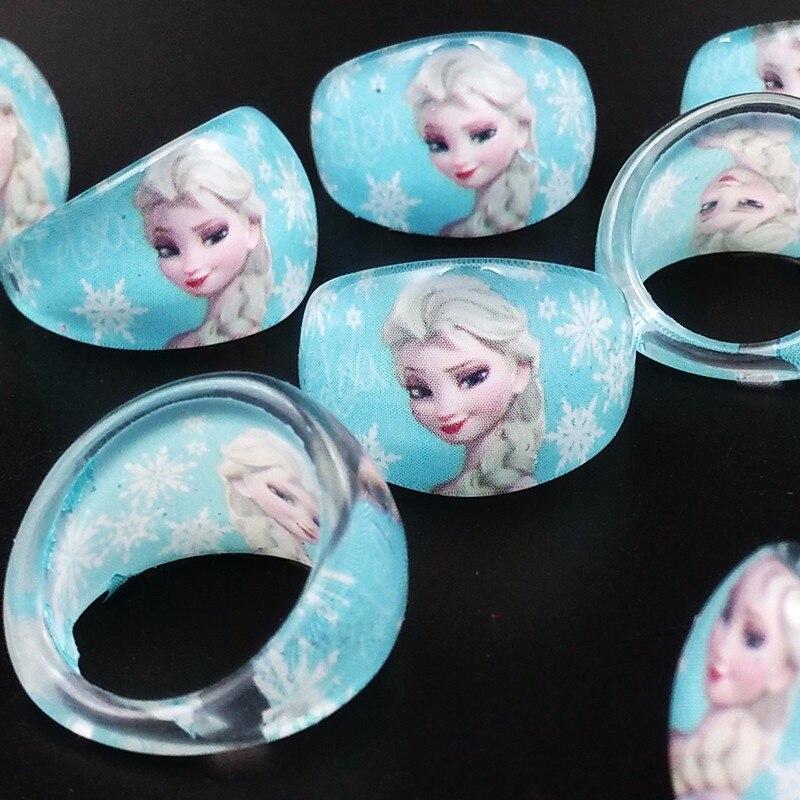 20Pcs//Set Children Kids Resin Rings Round Girls Ring Fingerring Bands Jewellery