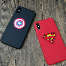Marvel Superman Spiderman case cover for Samsung galaxy s6 s7 edge s8 s9 plus note 8 9 5 4 soft silicone phone cover coque capa(China)