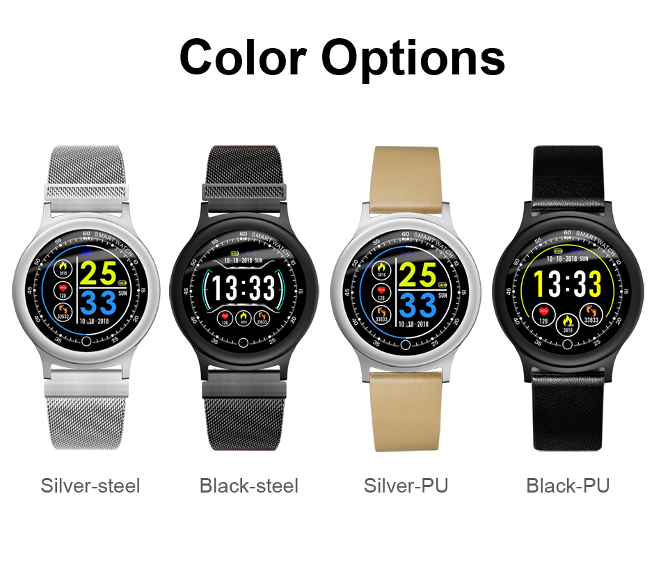 Q28 Smart Watch IP67 Waterproof Wearable Device Bluetooth Pedometer Heart Rate Monitor Men Fashion SmartWatch For AndroidIOS (14)