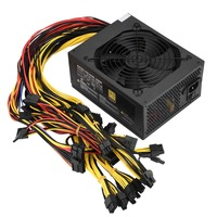 High Quality Computer 1800W 6 Graphics Cards Dedicated Power Supply For Mining Machine Single Fan Power