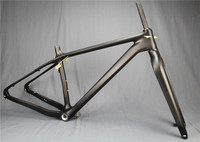 free shipping Full carbon frame FATbike fat liver snow frame carbon fiber material T800 BSA Five Tyrant bike