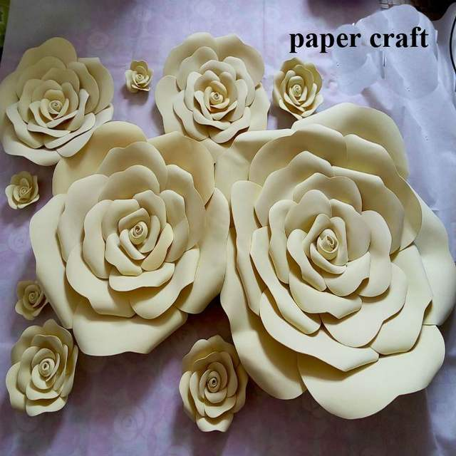 Online shop 10cm 60cm dia wedding custom paper flower wall diy foam online shop 10cm 60cm dia wedding custom paper flower wall diy foam flower backdrop decoration party supplies birthday party kids aliexpress mobile mightylinksfo