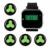 433.92 MHz Anfitrião + 5 pcs Chamar Botão do Transmissor de Relógio De Pulso Receptor Pager Restaurante Pager para o Sistema de Chamada Sem Fio F3294A