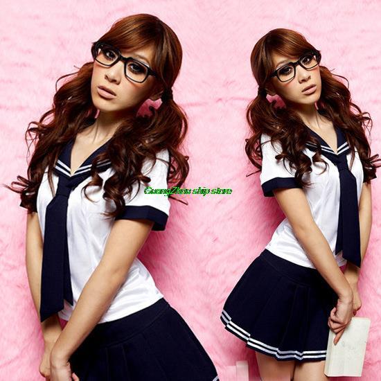 Sexy Lingerie Teen Girl School Uniform School Uniforms Cheerleading Uniform Temptation Ds Lead Dancer Clothing Costumes Sl146_2