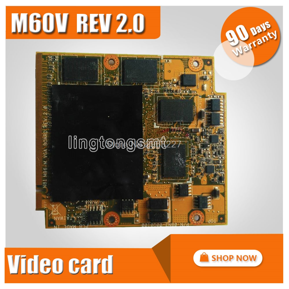 for asus n81vp M60V m60vp video card graphic card 216 0729042 HD4650 60 NUFVG1000 A02 100